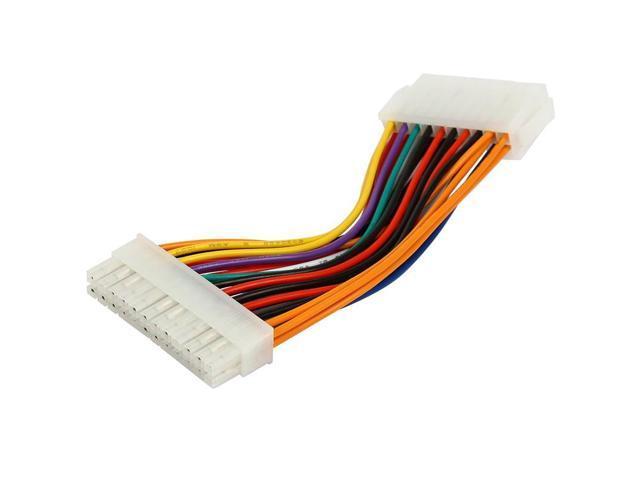 6inch PC Computer ATX Power Supply PSU Molex 20-pins to EPS 24 Pins ...