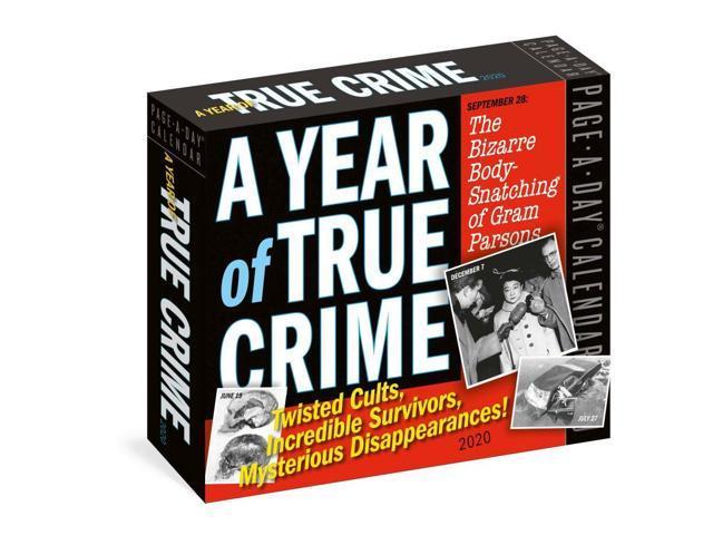 Workman Publishing, 2020 A Year Of True Crime Desk Calendar