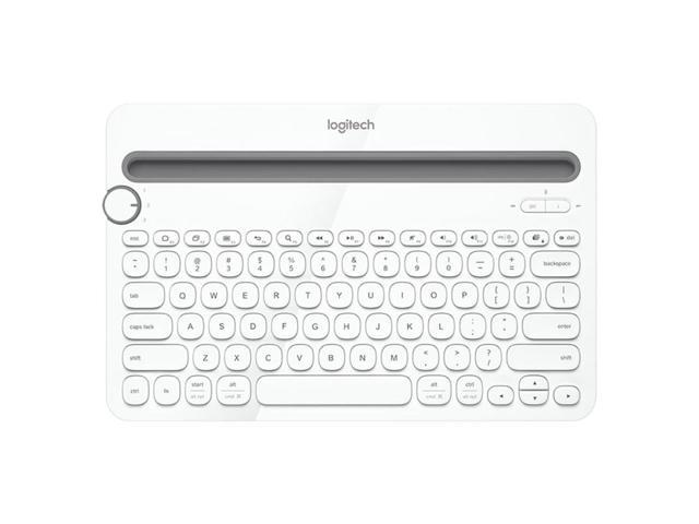 Logitech K480 Bluetooth Multi Device Portable Keyboard With Phone Holder Slot For Windows Mac Os Ios Android Smart Phone Tablet Newegg Com