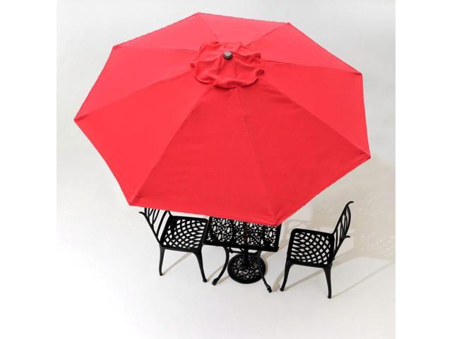 8ft 8 Ribs Patio Umbrella Replacement Canopy Outdoor Cover Top