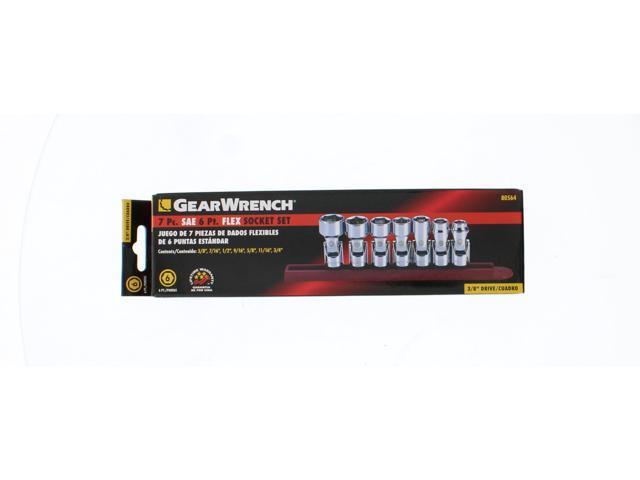 Flex Socket 14mm Gearwrench 80337 3//8 Drive 6 pt