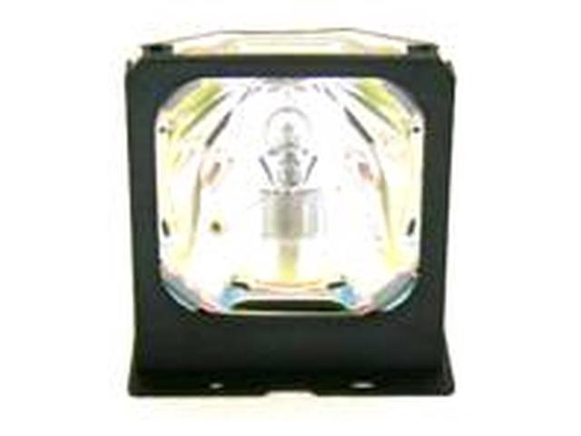 Power by Ushio IET Lamps with 1 Year Warranty Genuine OEM Replacement Lamp for Mitsubishi EX100U Projector