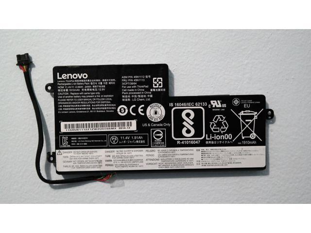 OEM Internal Battery For Lenovo Thinkpad T440 T440s T450 T450s S540 X240s  X250 - Newegg com