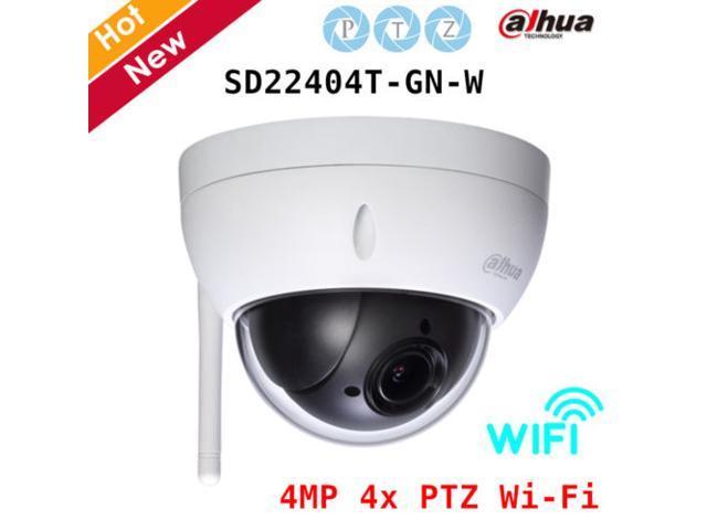 Dahua SD22404T-GN-W 4MP 4x PTZ Network IR WIFI Dome IP camera H 265  2 7mm~11mm - Newegg com