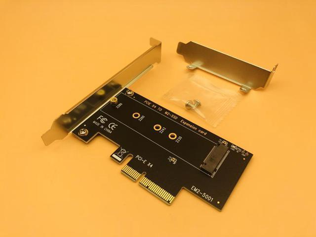 M.2 NVMe SSD M Key Slot TO PCI-E 3.0 X4 adapter card for 2280 2230 2242 2260