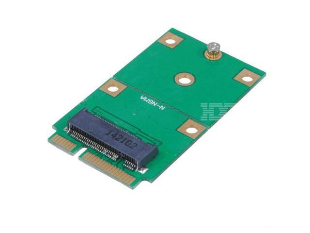 Mini-PCI-Express 52-Pin Network Riser Adapter Converter Card for Laptop