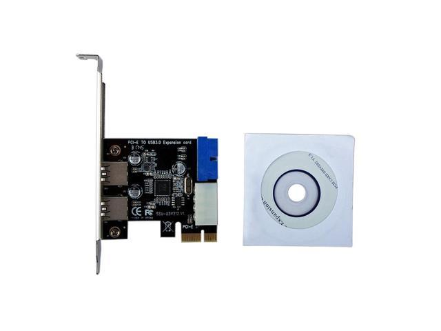 Festnight USB3.1 Type-C Expansion Card USB C Hub PCI-E to USB Fast Charge with 19Pin Front Adapter Card Controller Power Connection