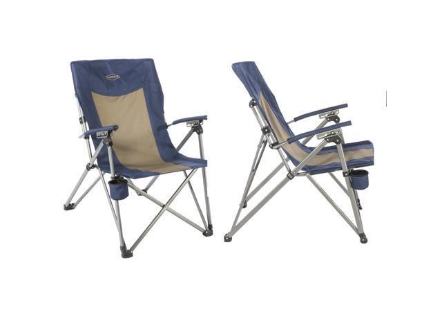 Kamp Rite 3 Position Hard Arm Reclining Chair W Cup Holder Newegg Com