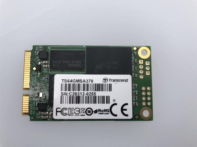 HP Micron RealSSD 64GB SSD mSATA SATA III 6Gb//s SSD MTFDDAT064MAY 745679-002