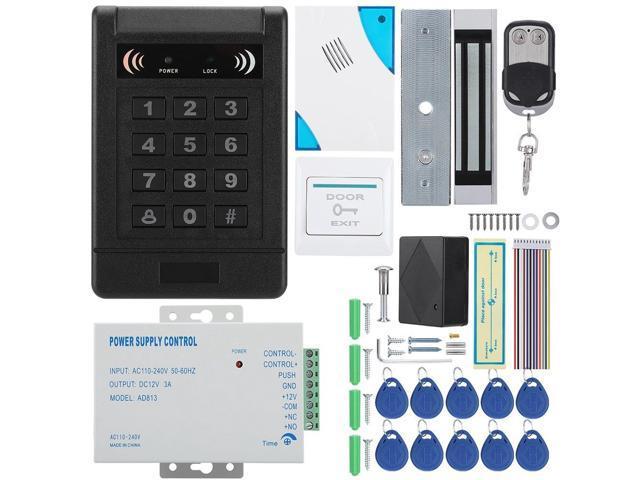 EM-ID Card Password Door Access Control Machine Magnetic Lock Remove  Control Doorbell