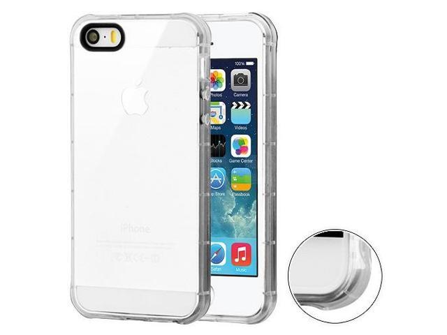 8bf555eaf9 MYBAT Transparent Clear Corner Guard Candy Skin Cover for iPhone SE,iPhone  5s/5