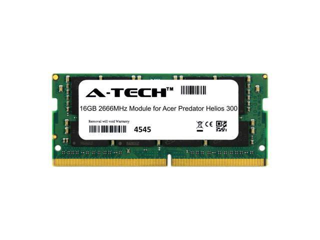 A-Tech 16GB 2666MHz DDR4 RAM for Acer Predator Helios 300 Laptop Notebook  Memory - Newegg com