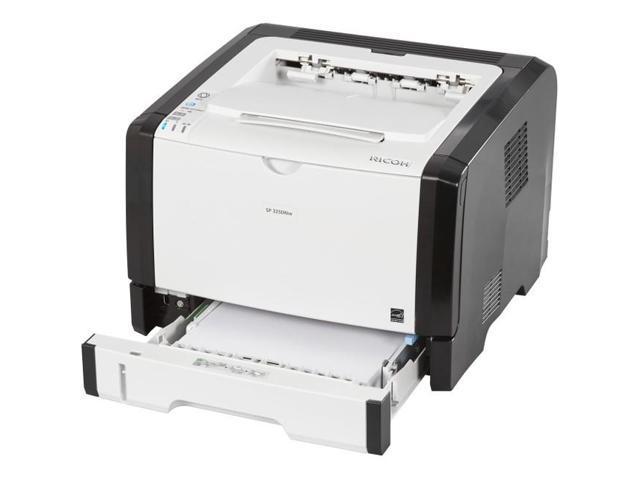 Ricoh - 407975 - Ricoh SP 325DNw Laser Printer - Monochrome - 1200 x 1200  dpi Print - Plain Paper Print - Desktop - 30 - Newegg com