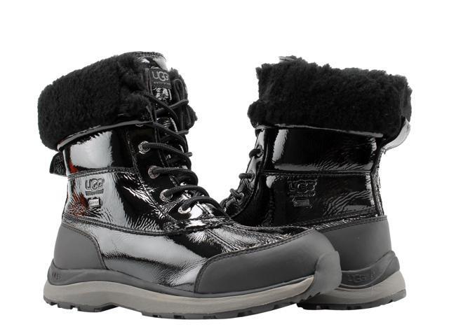 cc71d94e6fc UGG Australia Adirondack III Patent Black Women's Boots 1098532-BLK Size 9  - Newegg.com