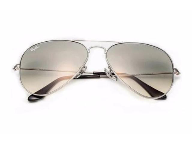 179c52b3897f Ray-Ban Aviator Non-Polarized Sunglasses (Silver) - Newegg.com