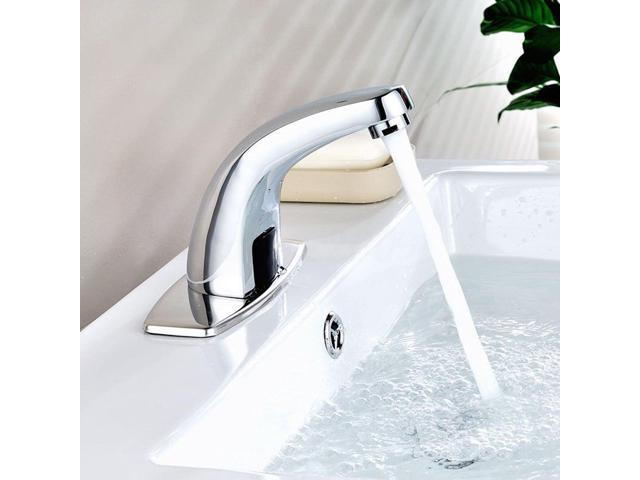 Automatic Electronic Sensor Touchless Faucet Hands Free Bathroom Sink Tap