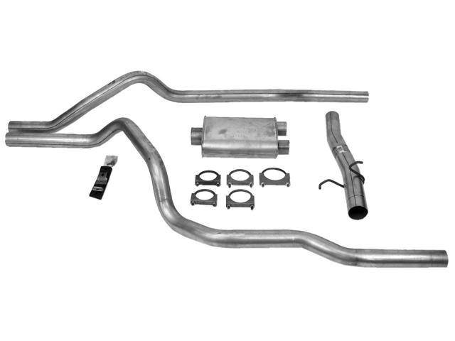 dynomax 19431 super turbo kit dual cat-back system