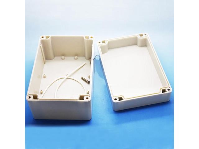 160x110x90mm Waterproof Clear Plastic Electronic Project Box Enclosure Case  RI