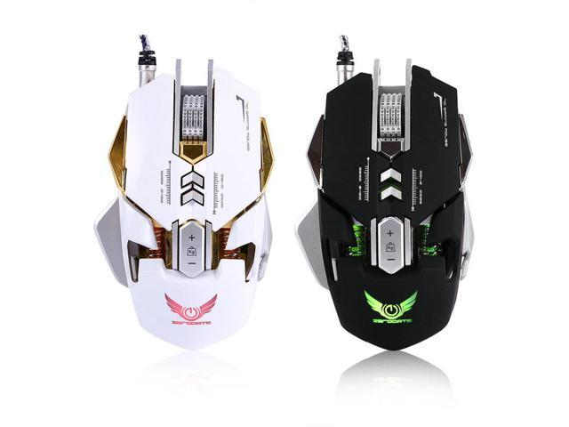New USB Wired Game Gaming Mouse 3200 DPI Mechanical Computer Mouses For PC  games Computer Laptop Desktop Universal + DISC Driver - Newegg com