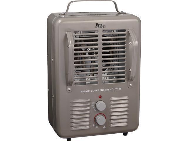 1 Best Comfort 400-Watt 120-Volt Wall Mounted Electric Panel Heater PH08H