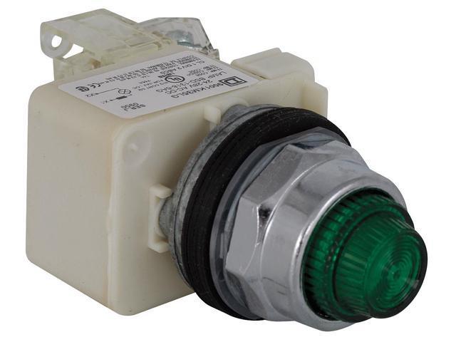 Push to Test Pilot Light,Green,LED SCHNEIDER ELECTRIC 9001KT35LGG31 -  Newegg com