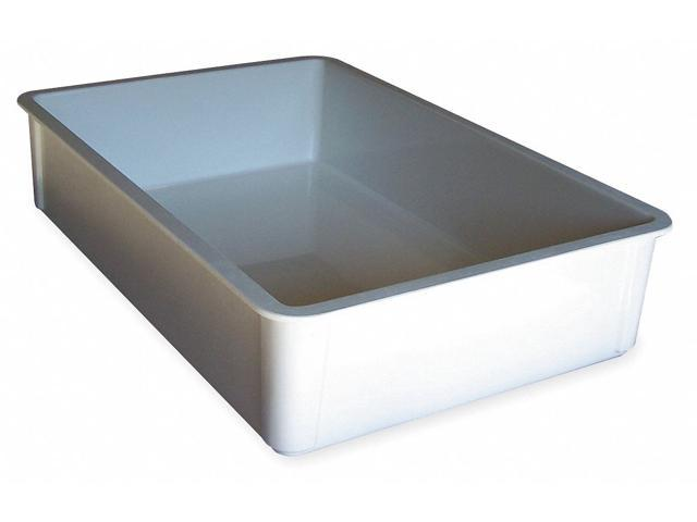 stacking container hd l 25 3 4 d 6 white molded fiberglass