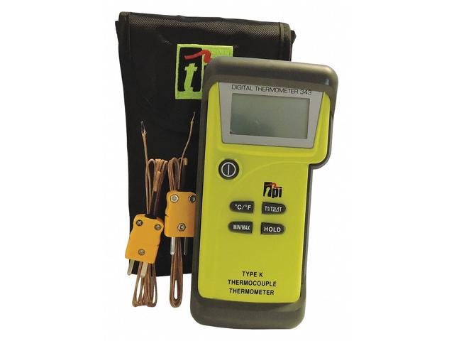 Dual Temperature Thermometer 2 Inputs Test Products Intl