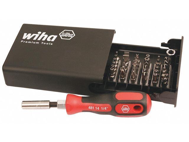 Wiha 75971 Master Tech Micro Bit 68 Piece Set In Travel Case