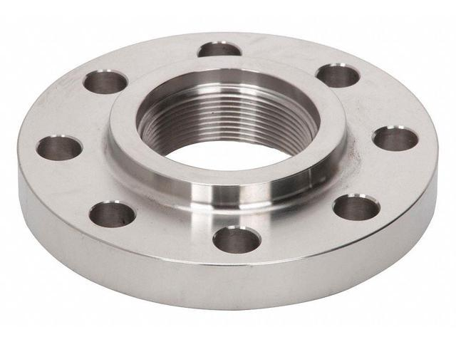 Forged 304 Stainless Steel Threaded Flange, FNPT, 4