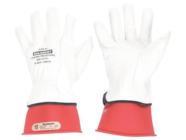 Salisbury Red Electrical Glove Kit, Natural Rubber, 00 Class, Size 10 GK0011R/10