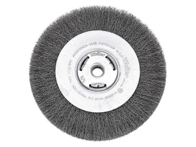 WEILER 90109 Encapsulated Wire Wheel Brush,Arbor