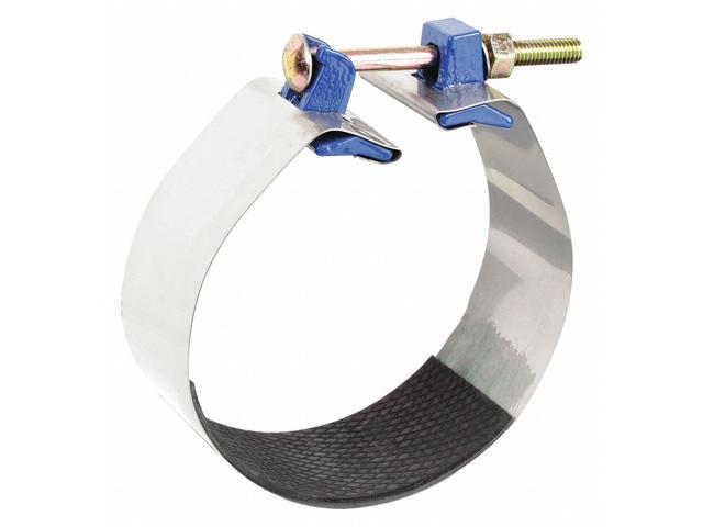 Smith-Blair Stainless Steel Repair Clamp 1-1//2 Pipe Size Carbon Steel Bolt Redi-Clamp 1 Bolt 3 Length