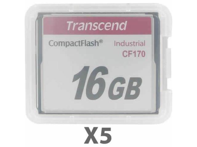 Delkin Devices 16GB Industical Compact Flash 2 Pack