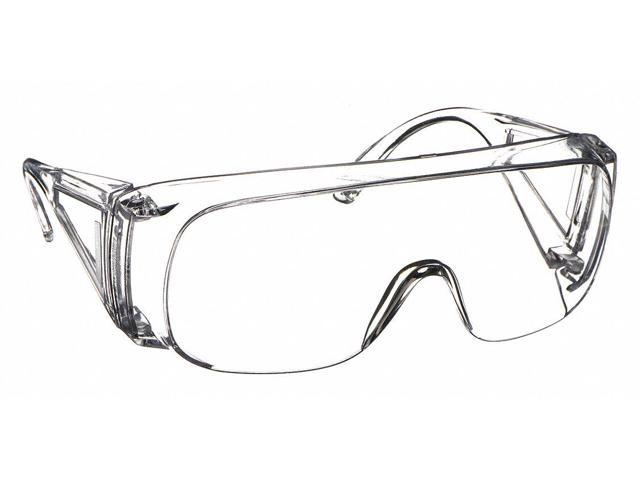 HONEYWELL UVEX T56555B N-Vision Safety Glasses With Black//Gray Frame And Clear