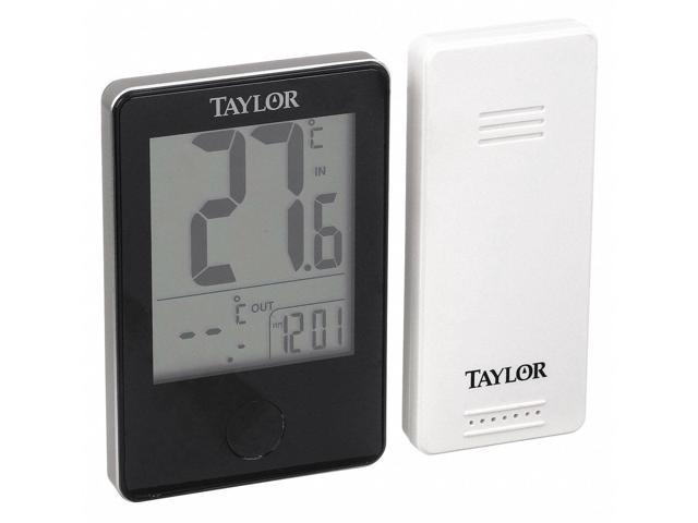TAYLOR 1733 Wireless In//Out Thermometer w//Barometer
