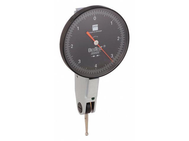 Dial Test Indicator,Hori,0 to 0.030 In TESA BROWN /& SHARPE 599-7029-5