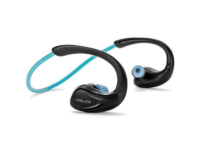 The Most Comfortable Bluetooth Earbuds By Airbuds All Day Comfort With Truefit Memory Foam Tips In Ear Headphones Includes Smart Microphone Sweatproof For Running Gym Noise Isolating Newegg Com