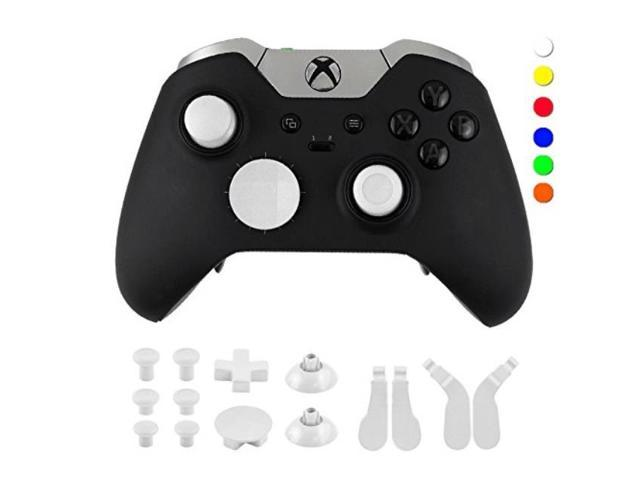 wps metal alloy bumper trigger button set for xbox one elite controller  with open tools t6 t8 white - Newegg com