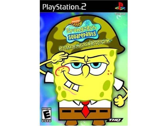 Playstation 2 SpongeBob Squarepants: Battle for Bikini Bottom PS2 -  Newegg com