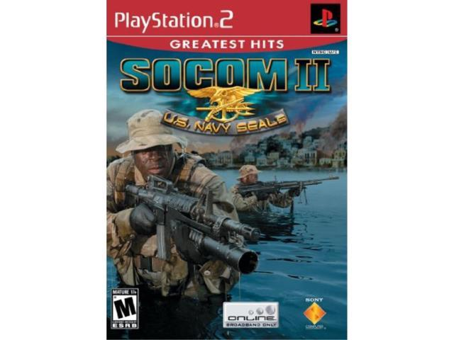 Playstation 2 SOCOM II PS2 - Newegg com