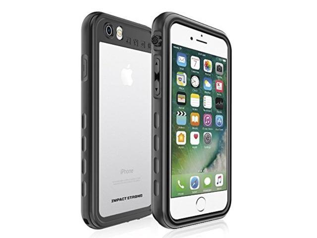 quality design c1c25 cdc2e iphone 7/8 waterproof case, impactstrong fingerprint id compatible slim  full body protection cover for apple iphone 7/8 sa black - Newegg.com