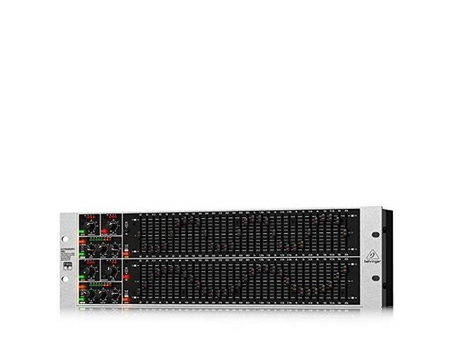 Behringer Ultragraph Pro FBQ6200HD High-Definition 31-Band Stereo Graphic  Equalizer with FBQ Feedback Detection System - Newegg com