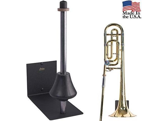string swing trombone hanger flat wall holder for all trombones stand  accessories home or band room studio wall musical instruments safe without  hard