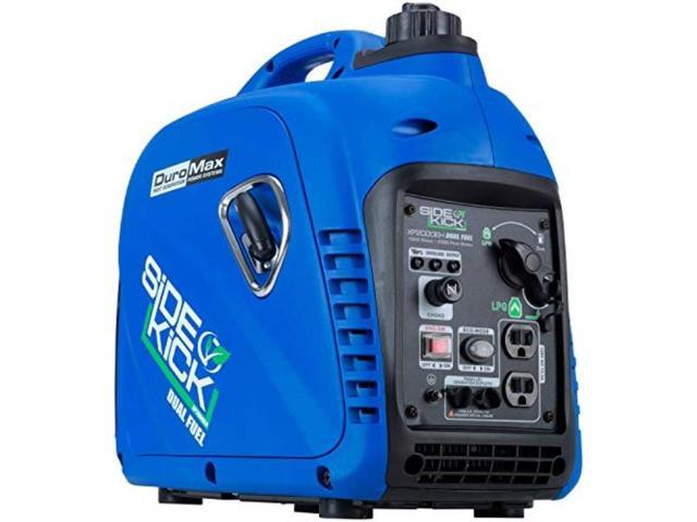 DuroMax XP2000EH 2000 Watt Dual Fuel Digital Inverter Hybrid Portable  Generator - Newegg com