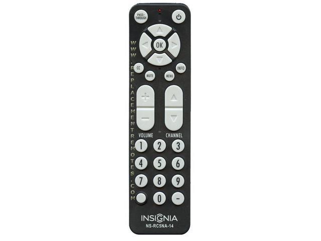 Insignia NS-RC5NA-14 Remote Control For Digital Analog TV Converter Box  NS-DXA2 - Newegg com