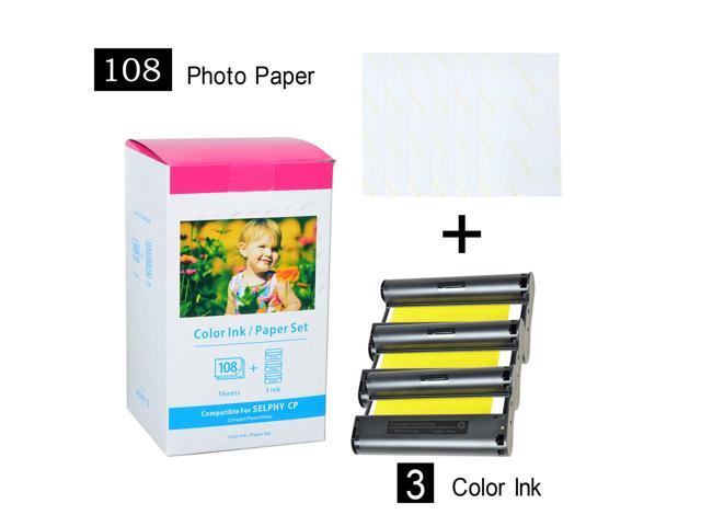 Refurbished: KP-108IN Color Ink Photo Paper Compatible for