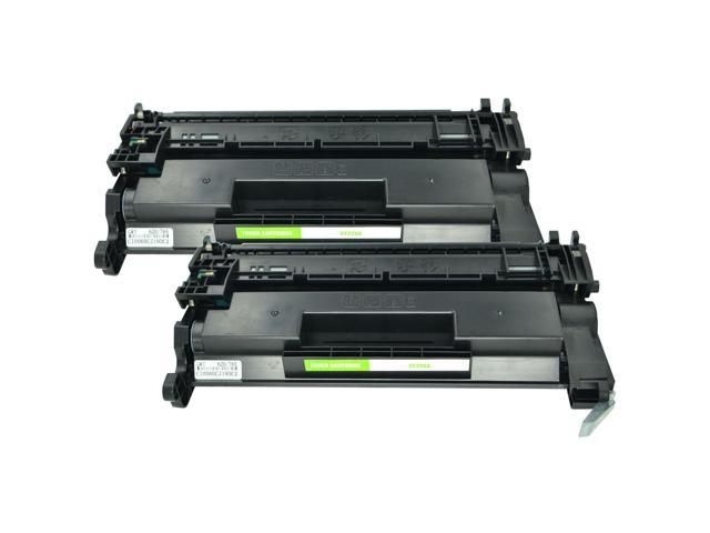 2PK Black CF226A 26A Laser Toner Cartridge for the LaserJet Pro M402 MFP M426