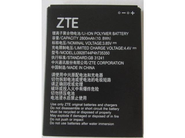 more photos ce5b9 b60ec NEW OEM ZTE Li3928T44P4h735350 Q802T Avid Trio Z833 ZFIVE2 Z836BL Z837VL  Battery - Newegg.com
