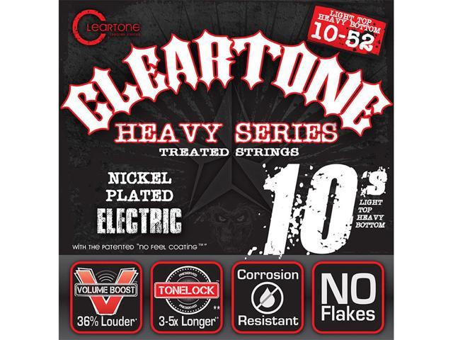 cleartone 9520 heavy nickel mustaine coated electric guitar strings 10 52. Black Bedroom Furniture Sets. Home Design Ideas