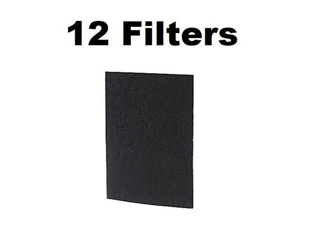 HAPF60PDQ-U A1260C 12-PACK Carbon Filter for Holmes Bionaire GE HAP60